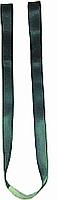 Tragegurte aus Perlon mit Schlaufe und Ledereinlage 50 mm breit, 1,65 m lang