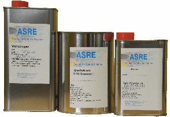 "Härter ""ASRE"" 0,2 Liter-Dose UN-Nr. UN 1263 UN-Versandbezeichnung: FARBE Gefahrenklasse:  3 Verpackungsgruppe: III Verpackungscodierung: Dose Sondervorschriften 640H begrenzte Mengen 5I Tunnelbeschränkungscode D/E"