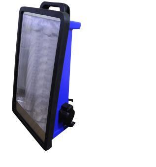 UV-Standstrahler 2 x 24 (48) Watt, 220-240 Volt.
