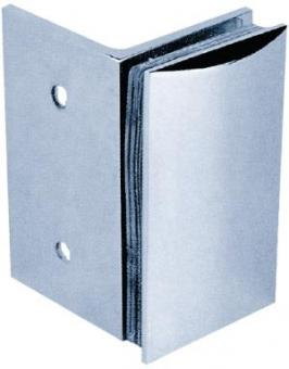 Clamp C, 90 x 52 mm glass/wall 90°