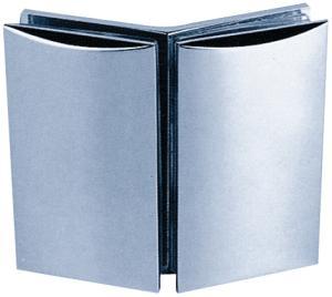 Clamp C, 90 x 52 mm, glass/glass 135°