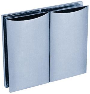 Clamp C, 90 x 52 mm, glass/glass 180°