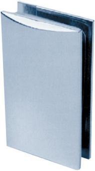 Beschlag C, 90 x 52 mm, Glas/Wand 90° ohne Winkel