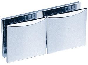 Clamp C, 45 x 45 mm, glass/glass 180°
