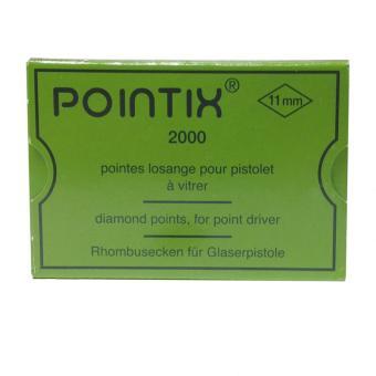 Rhombusecken 11 mm * 2000 Stück für Pointix