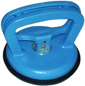 Suction lifter, 1 cup, plastics, compact body