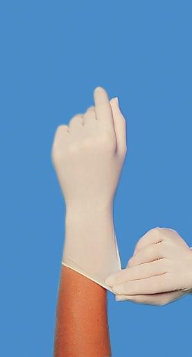 Nitril-Handschuh, ungepudert Gr. L, Pack mit 100 Stück