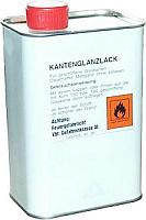 Kantenglanzlack 1 Liter UN-Nr. UN 1263 UN-Versandbezeichnung: FARBE Gefahrenklasse:  3 Verpackungsgruppe: II Verpackungscodierung: Dose begrenzte Mengen LQ6 Tunnelbeschränkungscode D/E