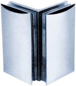 Beschlag C 90 x 52 mm Glas/Glas 90°