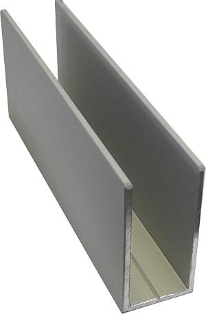 asre shop u profile 40x20x40x2mm 5m asre glass and. Black Bedroom Furniture Sets. Home Design Ideas