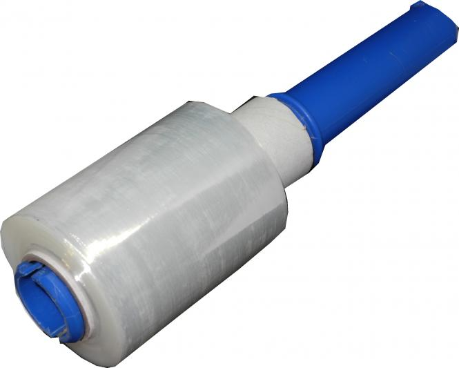 Dispenser roller for protective stretch film