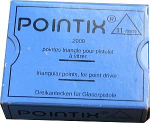 Dreikantecken 11mm * 2000 Stück für Pointix