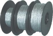 Flexible picture wire roll with 100 m